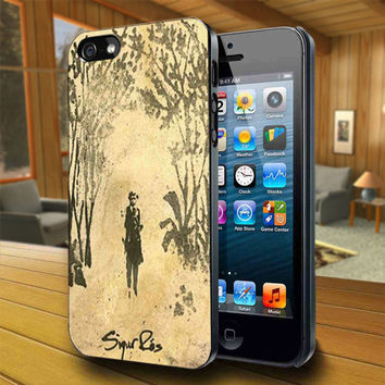 Sigur Ros Beauty Art Cover - Print on Hard Cover For iPhone 4/4S and iPhone 5 Case - Please Leave Message For Device And Colour Case