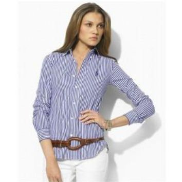 Beauty Ticks Ralph Lauren Polo Women Long Sleeve Shirts Rlwls017