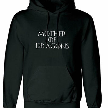Mother of Dragons Game of Thrones unisex Hoodie sweatshirt pullover, jumper sweater pocket winter is coming