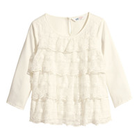 H&M Tiered blouse £9.99
