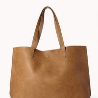 Everyday Faux Leather Tote