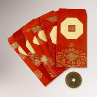 Chinese New Year Packets, Set of 6