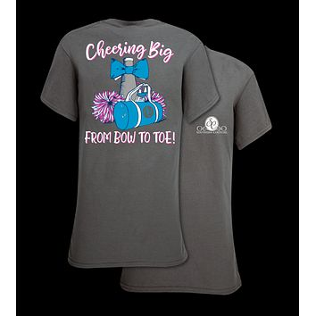 Southern Couture Preppy Cheer From Bow To Toe T-Shirt