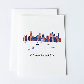Hello from NYC Card