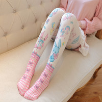 Sweet Woodland Critters Lolita Tights