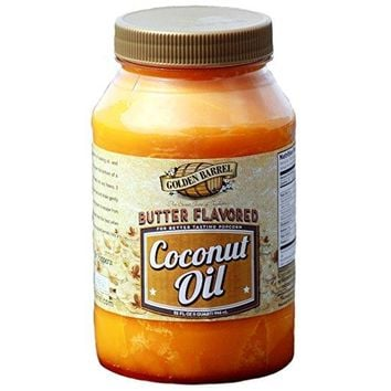 Butter Flavored Coconut Oil for Popping Corn