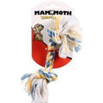 Mammoth Pet Products - Flossy Chews Color Rope Bone Dog Toy