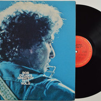 "BOB DYLAN - ""Greatest Hits Vol 2"" vinyl record"