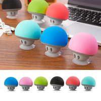 Mini Bluetooth Mushroom Music Player with Suction Cup