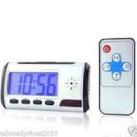 Digital Alarm Clock Video Hidden DV Spy Camera
