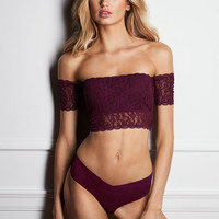 Off-the-shoulder Bralette - The Victoria's Secret Bralette Collection - Victoria's Secret