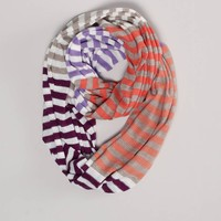 AEO Striped Loop Scarf | American Eagle Outfitters
