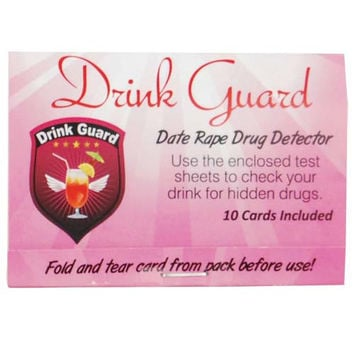 Drink Guard Date Rape Drug Detector