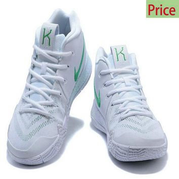 Spring Summer 2018 Cheap Priced 2018 Nike Kyrie 4 White Green sneaker