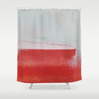 what remained Shower Curtain by duckyb