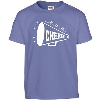 Cheer Shirts, Girls Youth Cheer Tshirts, Cheerleader Shirts | Our T Shirt Shack