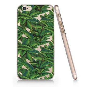 Bananas Leaves Pattern Iphone 6 case, Iphone 6 Case Slim White Cover Skin (4.7'' Screen)- Quindyshop (AM441)