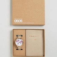 ASOS 'Oh The Places We Will Go' Watch and Passport Holder Set at asos.com