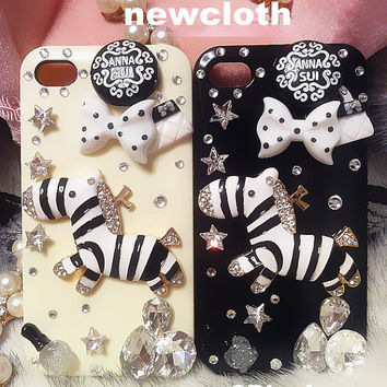 iPhone 4 case, iphone 4s case, cute iPhone 5 Case, kawaii iphone 4 case, cute iphone 4s case pony, cute horse ponny iphone 4 case skin sj56