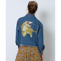 Style Maker's Denim Jacket - Blue