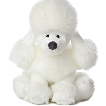 "Aurora World Wuff & Friends Willow Poodle Plush, 10"" Tall"