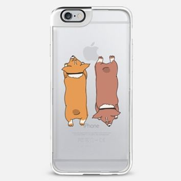 Corgis Sploot! iPhone 6 Plus case by eugeniaclara | Casetify