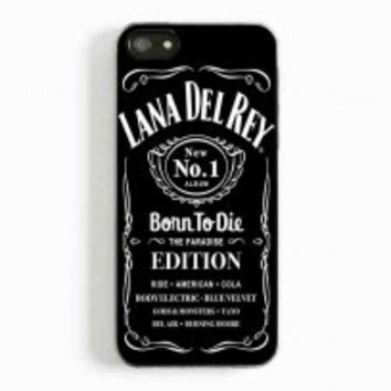 lana del rey jack daniels for iphone 5 and 5c case