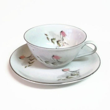 Royal Duchess, Mountain Bell Cup and Saucer, Bavaria Germany, Fine China