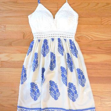 Crochet Greek Isle Party Dress