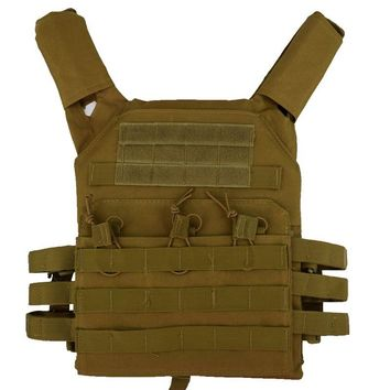 JPC Vest Tactical Vest Military Gear Hunting Airsoft Plate Carrier Army Airsoft Equipment Ammo Magazine Combat Shooting Vests