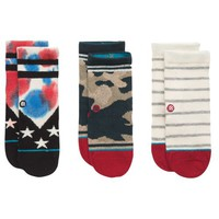 Stance 3 Pack Socks - Boys' Toddler at Kids Foot Locker