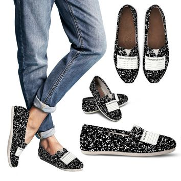 Composition Book Casual Shoes