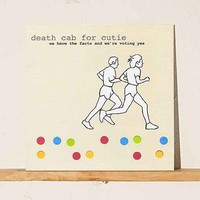 Death Cab For Cutie - We Have The Facts And We're Voting Yes LP- Black One