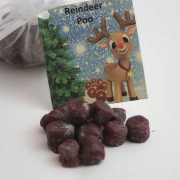 Reindeer Poop Candle Tarts, Holiday Tarts For Naughty List, Reindeer Poop Poem, Holiday Gag Gift