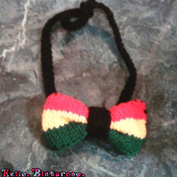 Rasta Hairbow Headband
