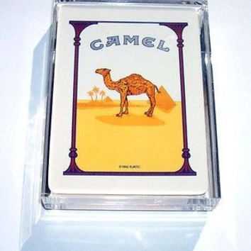 Acrylic classic Camel Cigarettes pack Desk Paperweight