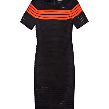 Cynthia Rowley - Crepe Ribbon Slim Dress | Dresses