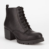 SODA Nevitt Womens Military Boots | Boots & Booties