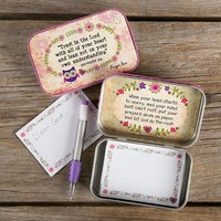 Trust The Lord Prayer Box by Natural Life