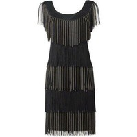 Phase Eight Chain fringe dress - Polyvore