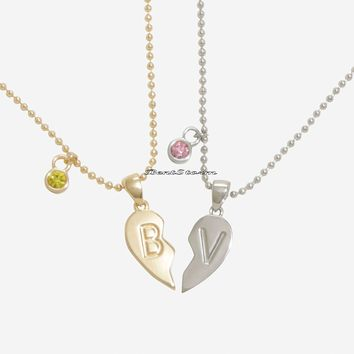 Licensed cool Riverdale Betty & Veronica Bestie Best Friend Necklace Set Hot Topic Exclusive