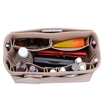 CEEWA Felt Purse Organizer, Multi Pocket Bag in Bag Organizer For Tote & Handbag Shaper, Speedy 35 and Speedy 40, Large, Extra Large