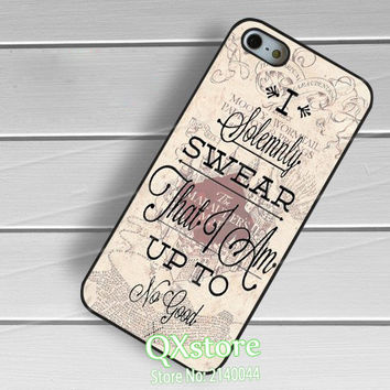 Harry Potter Marauders Map Quotes phone cover case for Samsung galaxy S3 S4 S5 S6 S7 S6 edge S7 edge Note 3 Note 4 Note 5
