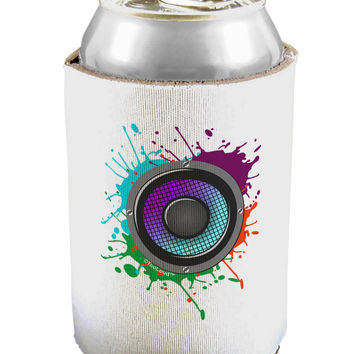 Paint Splatter Speaker Can / Bottle Insulator Coolers