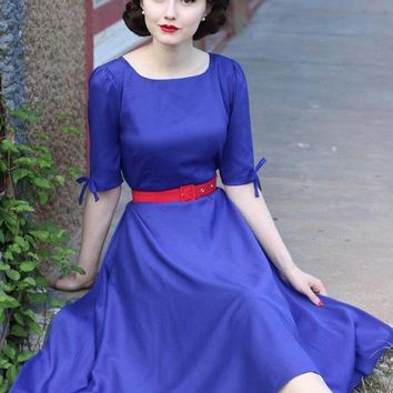 Aurora Swing Rockabilly Dress