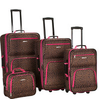 Rockland Luggage Safari 4 Piece Luggage Set - eBags.com
