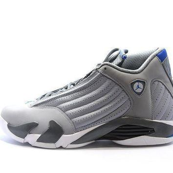 Jordan 14 Retro Sport Blue - Beauty Ticks