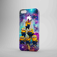 Despicable Me Minions In Galaxy Logo iPhone Case Samsung Galaxy Case TM00 3D