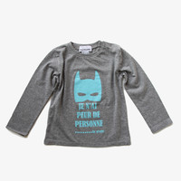 Arsene et Les Pipelettes Boys Superhero Mask Tee - H15GT02 - FINAL SALE