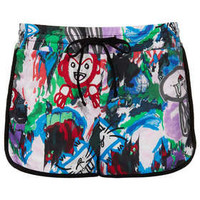 Marble Paint Runner Shorts - New In This Week  - New In